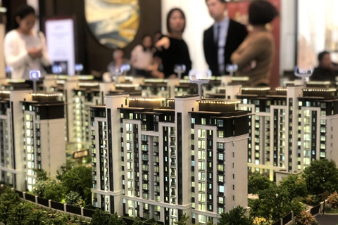Housing sales, investments and new construction starts will decline significantly next year, CICC says. Photo: VCG