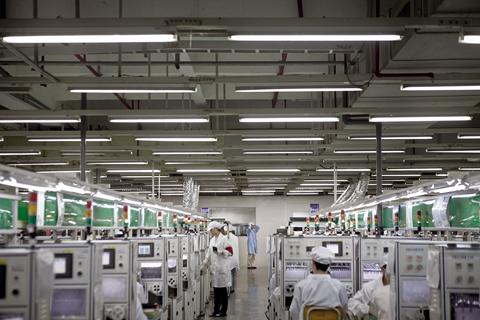 鸿海下调2020年销售增长预期;华为正在欧洲选址建5G工厂;高通第一财季净利润下滑13%
