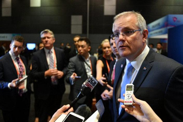 Australian Prime Minister Scott Morrison insisted at the 2018 ASEAN Summit in Singapore that his recently announced Pacific pivot was not aimed at pushing back at China. AAP