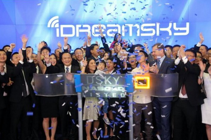 IDreamSky listed on the Nasdaq on Aug. 7, 2014, but later privatized. Photo: IC