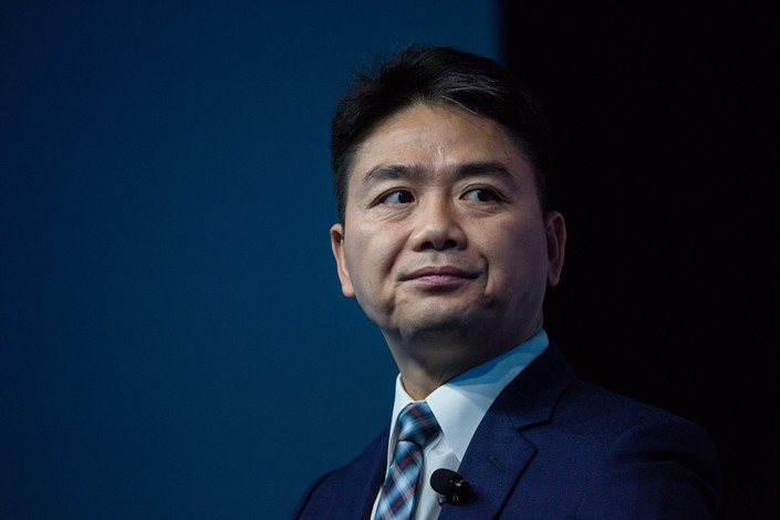 JD.com founder Richard Liu. Photo: Bloomberg