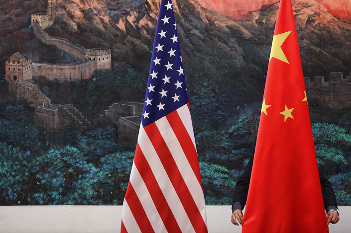 """U.S. and Chinese officials """"exchanged opinions on the timetable and roadmap for the trade negotiations,"""" China's commerce ministry said. Photo: VCG"""
