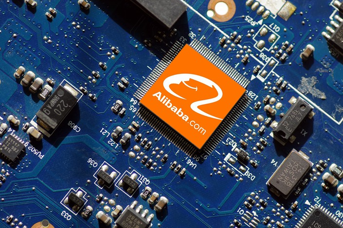 E-commerce titan Alibaba has registered its first chip-making company, as China looks to break the nation's dependence on foreign semiconductor technology. Photo: VCG