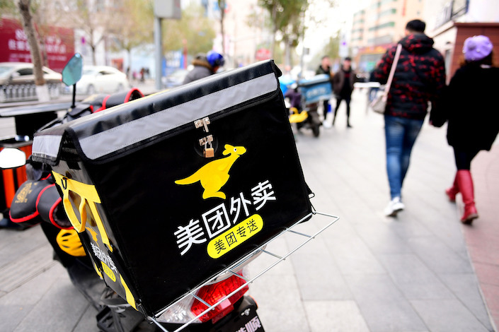 Tencent-backed Meituan Dianping joined several internet companies in reporting job cuts. Photo: VCG