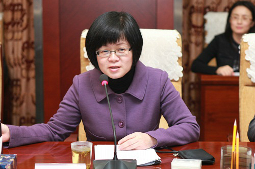 Liu Wei, 53, officially assumed her new position as party secretary of the National Association of Financial Market Institutional Investors on Wednesday. Photo: State Council