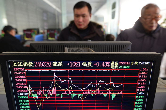 Global equity index provider S&P Dow Jones Indices will include more than 1,400 Chinese A-shares in its global benchmarks starting in September. Photo: VCG