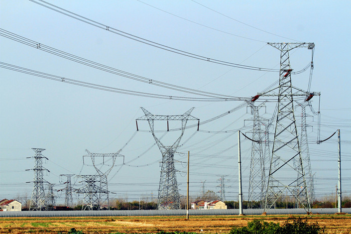 The building of power grids has been removed from China's 2018 negative list for foreign investors. Photo: VCG