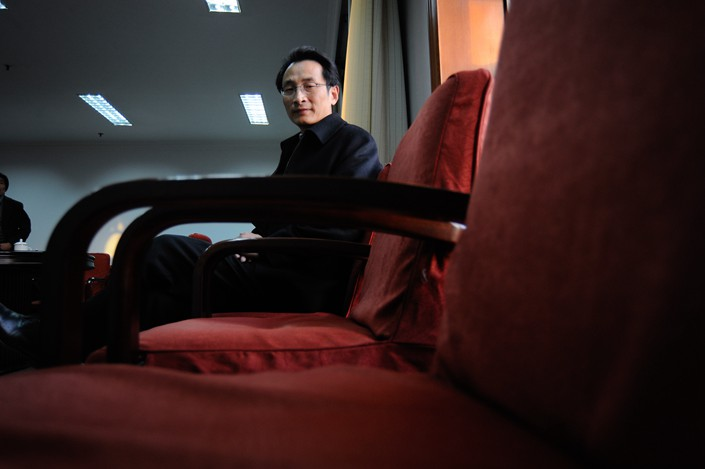 Former Beijing Vice Mayor Chen Gang. Photo: VCG