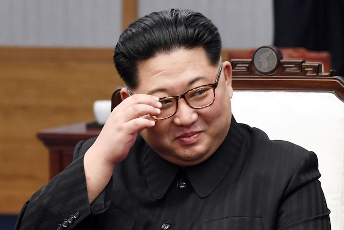 Kim Jong Un. Photo: Bloomberg