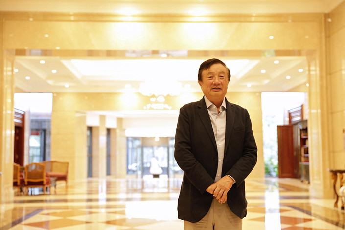 Huawei's founder breaks years of silence to protest U.S. attacks. Photo: Bloomberg