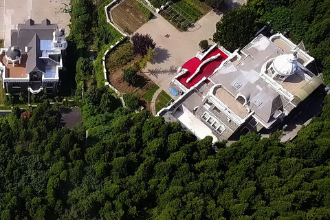 "The ""Great White House"" seen from above before demolition. Photo: VCG"