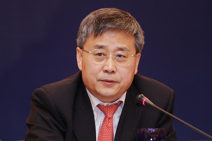 CBIRC Chairman Guo Shuqing. Photo: VCG