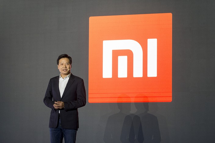 Xiaomi Corp. CEO Lei Jun speaks at a product launch event in Beijing on Jan. 10. Photo: VCG