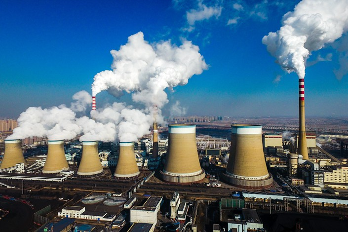 A coal-fired power plant in Datong, North China's Shanxi province on March 17. Photo: IC