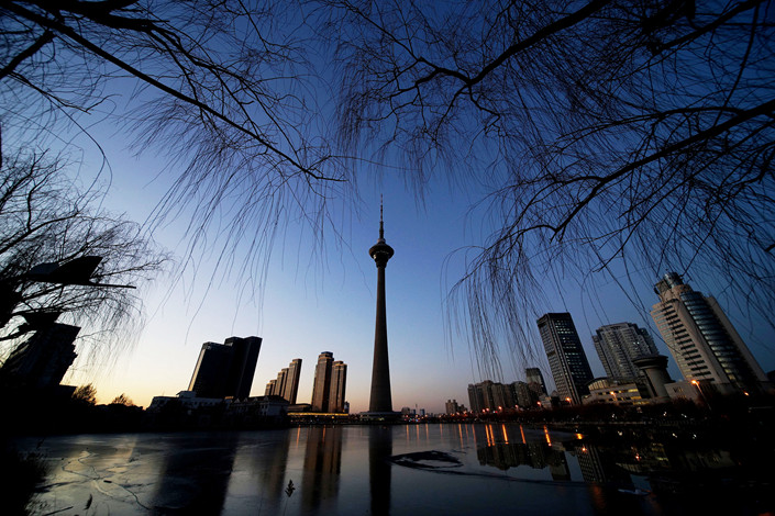 Of the eight regions predicting slowdowns in economic growth, the northern port city of Tianjin set the lowest target for growth this year. Photo: VCG