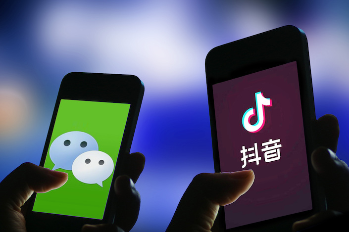 WeChat 'Blocks' TikTok — Again - Caixin Global