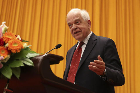 Former Canadian ambassador to China John McCallum. Photo: VCG