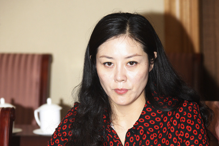 "Jiang Baohong, the former vice mayor of Wuwei, Gansu province, is accused of having ""improper interests such as trading sex for power."" Photo: VCG"