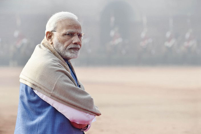 Indian Prime Minister Narendra Modi. Photo: IC