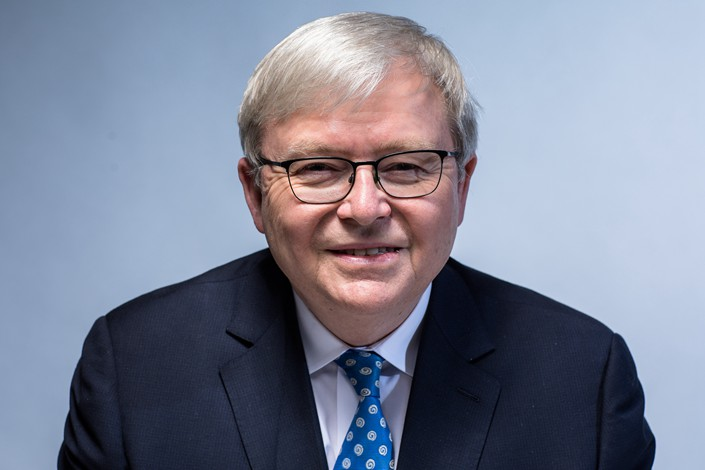 Former Australian Prime Minister Kevin Rudd says any trade deal between China and the U.S. will not be an end to the matter. Photo: VCG