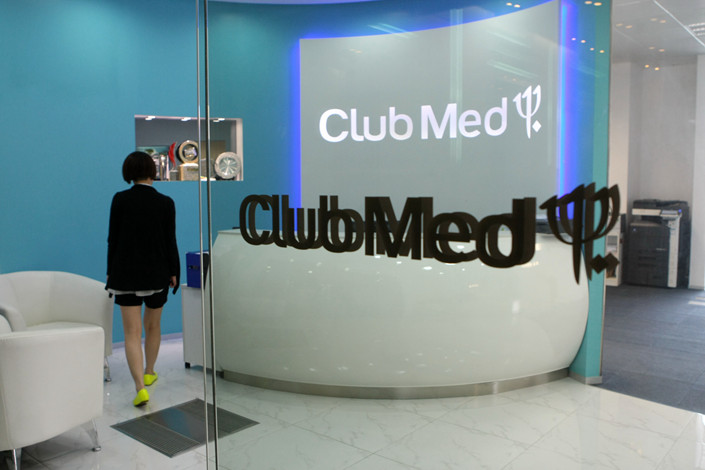 Club Med's Shanghai office, May 29, 2013. Photo: IC