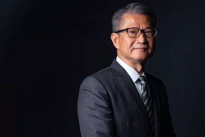 Hong Kong Financial Secretary Paul Chan. Photo: Bloomberg