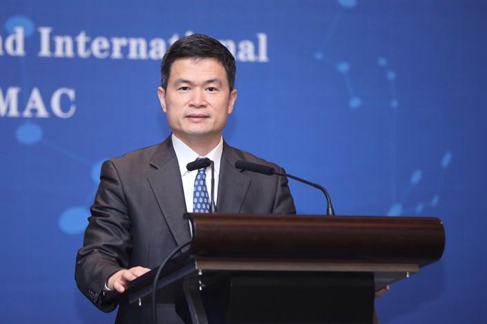 China Securities Regulatory Commission Vice Chairman Fang Xinghai. Photo: VCG