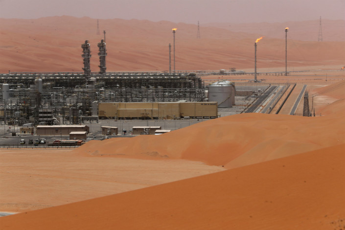 Natural gas liquids facility at Saudi Aramco facility in Saudi Arabia. Photo: VCG