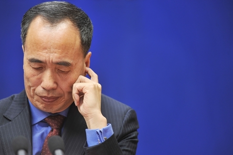 Wang Zhaoxing, vice chairman of the China Banking and Insurance Regulatory Commission. Photo: VCG