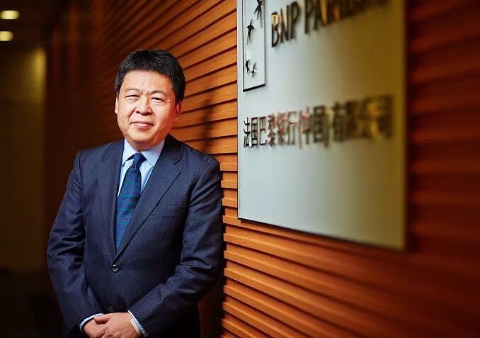 CG Lai, CEO of BNP Paribas (China) Ltd. Photo: BNP Paribas