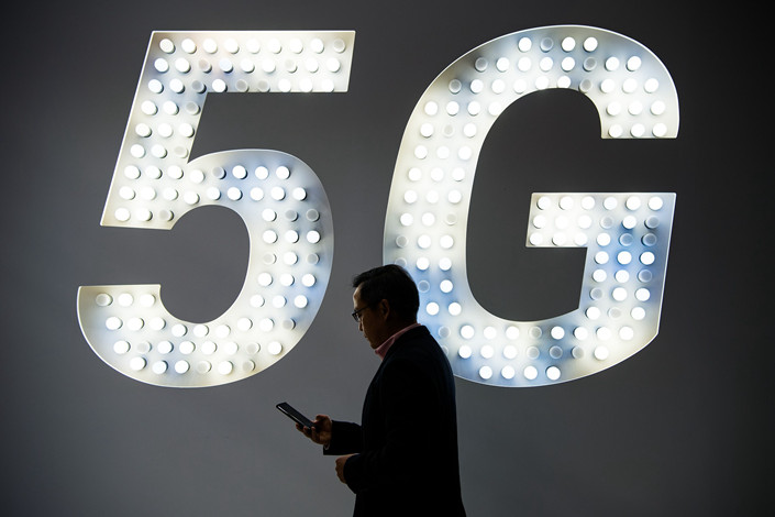 Research group HIS predicts that the deployment of 5G networks will create an industry worth $12.3 trillion, and offer nearly 22 million jobs by 2035. Photo: VCG