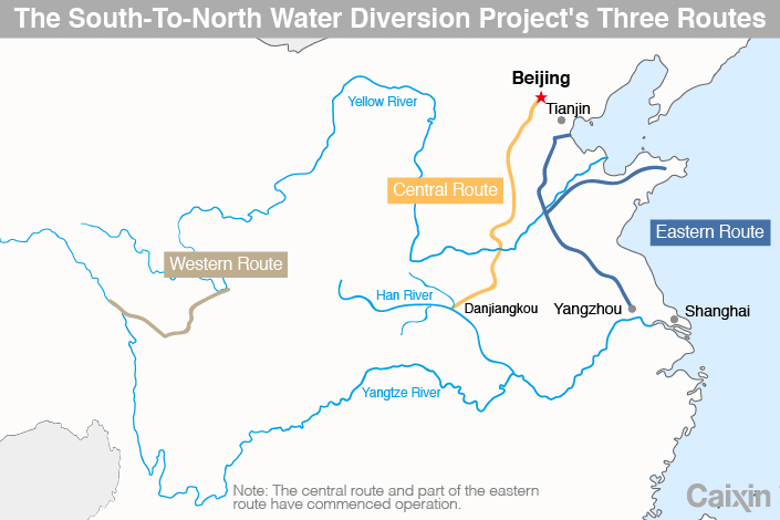 Beijing's Thirst May Be Too Much for Water Diversion Project
