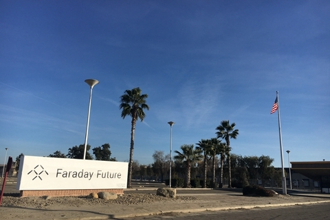 Faraday Future Gives Up on Plan for Nevada Plant and New