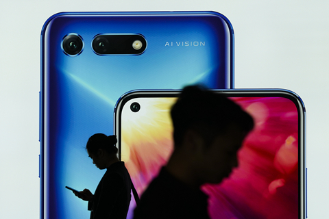 Huawei is shifting its strategic focus to consumer products this year amid stiffening headwinds in the carrier business market. Photo: VCG