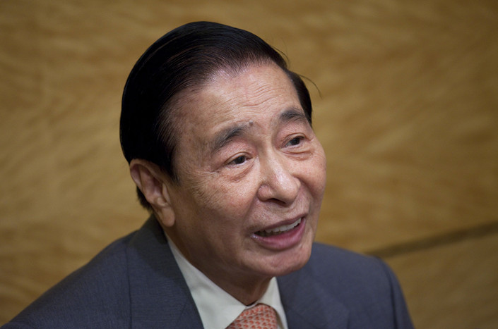 Lee Shau-kee, chairman of Henderson Land Development Co. Ltd. Photo: VCG