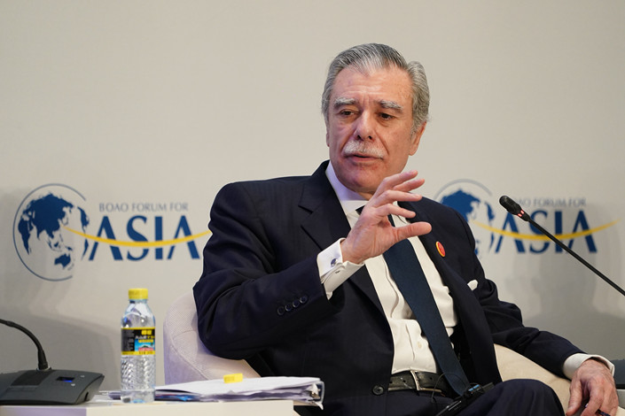 Former U.S. Commerce Secretary Carlos Gutierrez on March 27, 2019. Photo: VCG