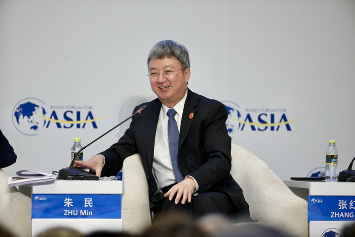 Zhu Min is former deputy managing director of the International Monetary Fund and former vice governor of China's central bank. Photo: VCG