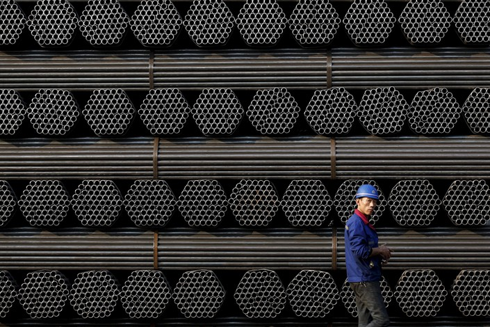 The profits of China's steel industry surged nearly 40% last year. Photo: VCG