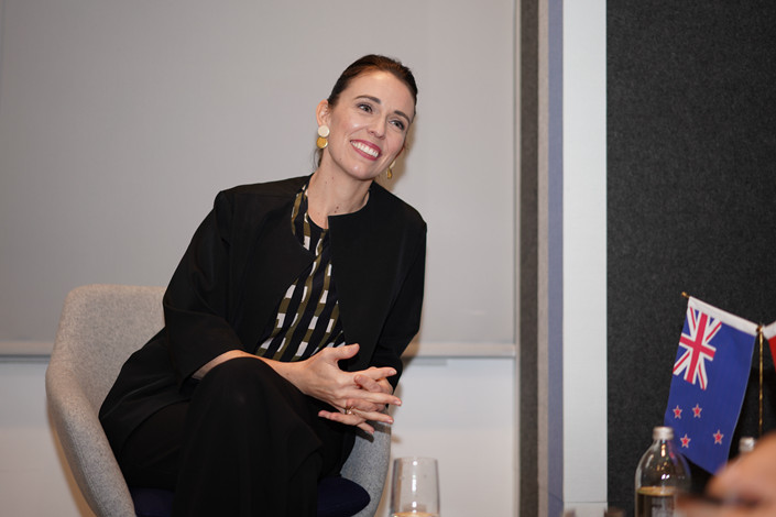 New Zealand's Prime Minister Jacinda Ardern. Photo: Cai Yingli/Caixin