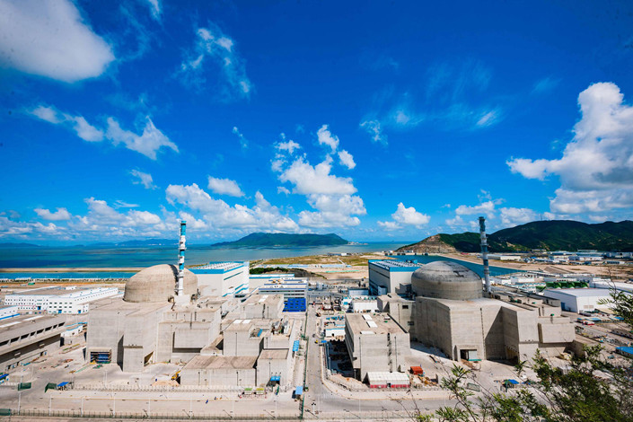Guangdong's Taishan Nuclear Power Plant on Dec 1, 2017. Photo: VCG