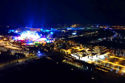 The expo park seen from above on Monday. Photo: VCG