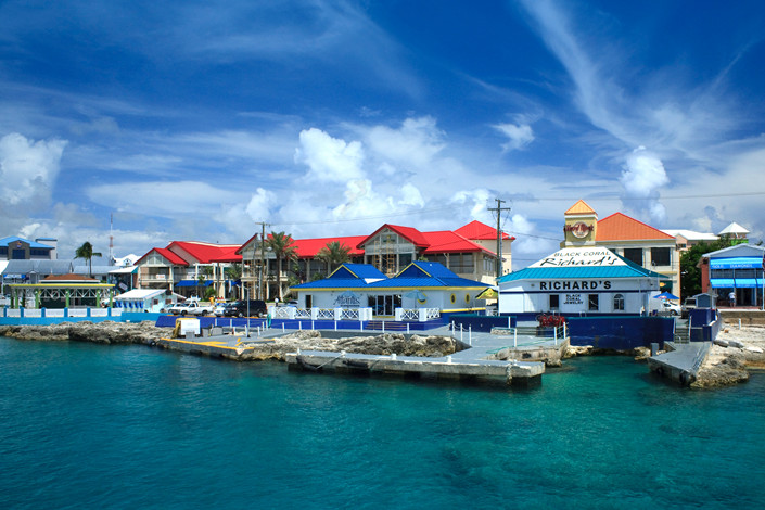 A view of Georgetown Harbour, Grand Cayman, in October 2010. Photo: IC