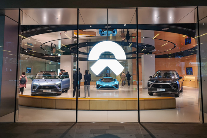 A Nio dealership in Shanghai on Nov. 16. Photo: IC