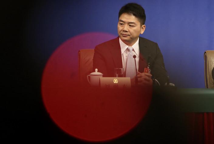 Richard Liu, Chairman and CEO of online retailer JD.com. Photo: IC