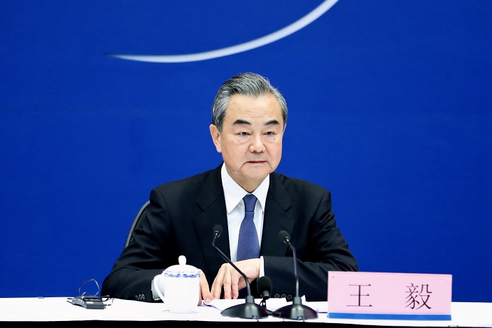Minister of Foreign Affairs Wang Yi. Photo: IC