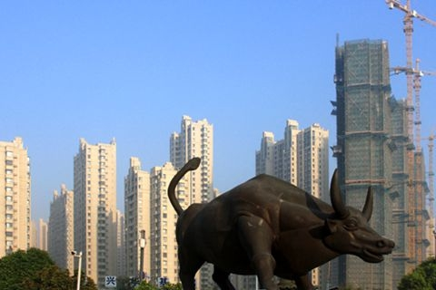 Home prices in major Chinese cities rose at a faster pace during the first three months this year. Photo: IC Photo