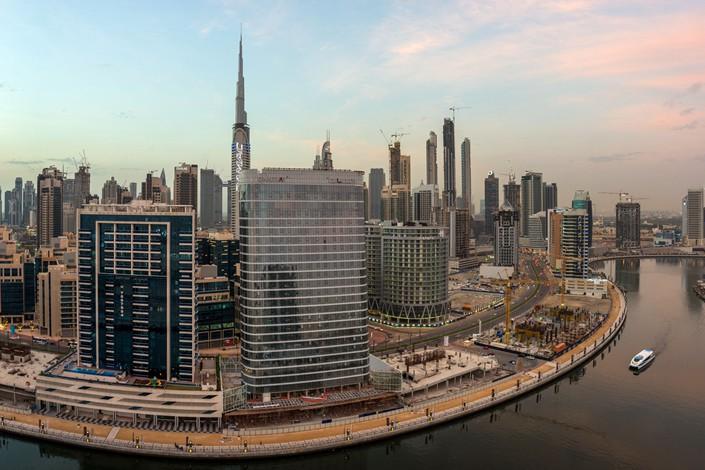 Downtown Dubai. Photo: Bloomberg