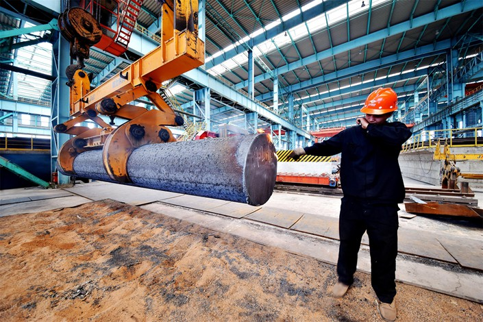 China produced 231 million tons of steel in the first quarter of 2019, a year-on-year increase of 9.92%, almost a third higher than the year-on-year growth seen between 2017 and 2018. Photo: IC Photo