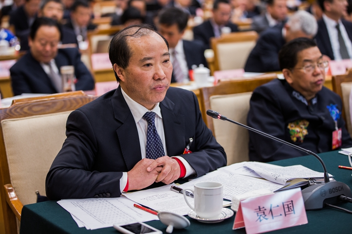 Former Moutai Chairman Yuan Renguo. Photo: IC Photo