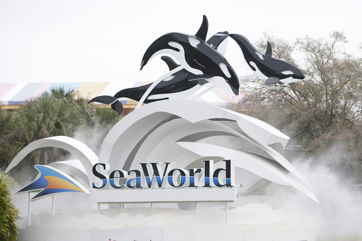 SeaWorld has canceled a design-and-development deal with Zhonghong, a real estate developer headquartered in Beijing. Photo: Bloomberg